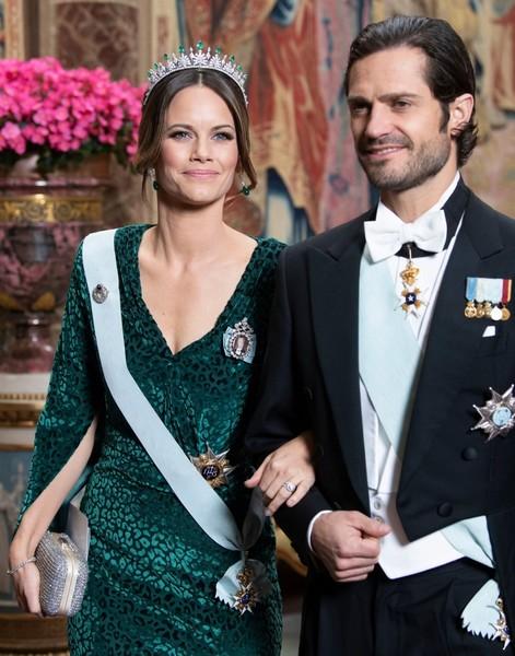 Принцесса София с супругом Карлом Филиппом, 12 ноября 2019
